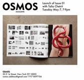 May 7: Osmos Magazine Launches Issue 01
