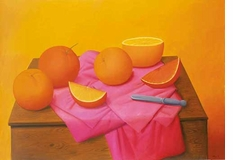 Fernando Botero's Oranges: 'The Simplest Form in Nature, but the Most Difficult to Paint'
