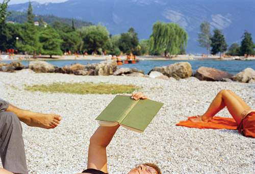 Featured photograph, made in Lake Garda, Italy, in 1999, is reproduced from Martin Parr