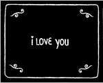 I Love You: Flip Book