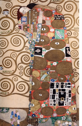 "Featured image, ""Fulfillment,"" is reproduced from <I>Gustav Klimt: Expectation and Fulfillment.</I>"