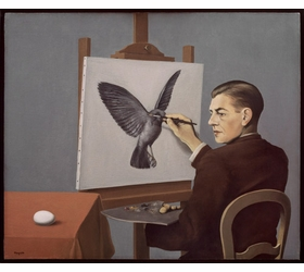 "Featured image, ""The Human Condition"" (1933), is reproduced from <I>Magritte: The Mystery of the Ordinary, 1926-1938</I>."