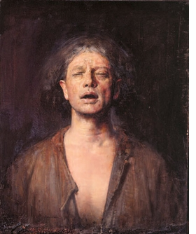 "Featured image, ""Selfportrait with eyes shut"" (1991), is reproduced from <I>Odd Nerdrum: Self Portraits</I>."