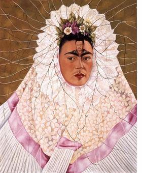 Featured image is reproduced from <I>Frida Kahlo</I>.