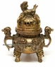 Chinese Bronze Incense Burner - Dragon #2