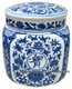 Chinese Porcelain Jar - Wealth Flowers #1