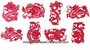 Chinese Paper Cuts - Dragon Symbols