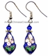Chinese Cloisonne Earrings (pair) #3