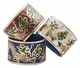 Chinese Cloisonne Rings - Twin Dragons (set of 3) #9