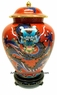 Chinese Cloisonne Jar - Dragon #6