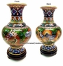Chinese Cloisonne Vase - Twin Dragons #26