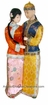 Collectible Chinese Dolls - Couple #199
