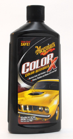 Car Care Kit >> Meguiars ColorX is a gentle polish, paint restorer and protectant for all colors of auto ...