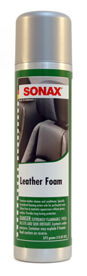 Sonax Leather Foam Leather Cleaner Amp Conditioner Sonax