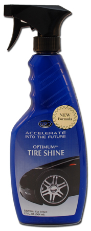 Optimum Tire Shine Is A Glossy Protective Tire Dressing