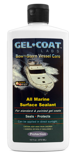 Gel Coat Labs All Marine Surface Sealant Fiberglass Sealant Gel Coat Sealant