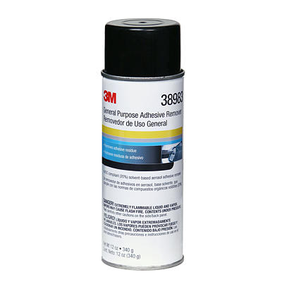3m General Purpose Adhesive Cleaner Bug And Tar Remover