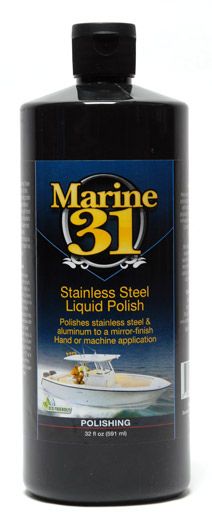 Marine 31 Stainless Steel Liquid Polish Best Marine Metal