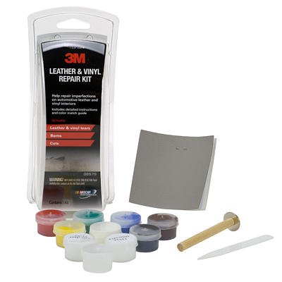 3m leather vinyl repair kit 3m 08579 repair leather tear repair