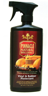 Pinnacle Vinyl Amp Rubber Protectant Beautifies And Protects