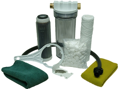 Clean Water Filter Kit Clear Inline Hose Filter Car Wash