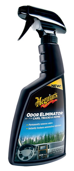 Car Odor Eliminator >> Meguiars Car Odor Eliminator is a quick spray solution to interior car odors. Meguiars Car Odor ...