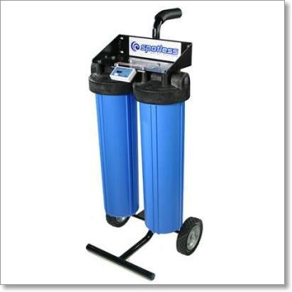 Cr Spotless Rolling De Ionized Water Filtration System