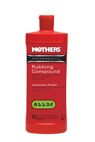 Professional Car Detailing Supplies >> Mothers Professional Rubbing Compound, car rubbing ...