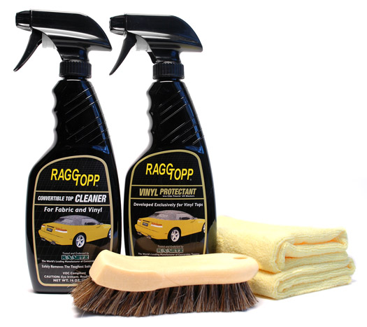 Steam Clean Car Interior >> Raggtopp Vinyl Convertible Top Cleaner & Protectant Kit
