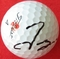 Tom Gillis autographed 2013 PGA Farmers Insurance Open tournament used Titleist Pro V1 golf ball
