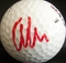 Anthony Kim autographed golf ball