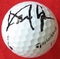 David Lynn autographed 2013 Farmers Insurance Open tournament used Taylor Made golf ball