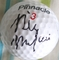 Billy Mayfair autographed golf ball