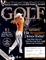 Anthony Kim autographed 2008 Golf magazine cover