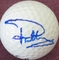 Paul Casey autographed Nike golf ball