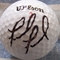 Fred Funk autographed golf ball
