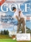 Adam Scott autographed 2008 Golf Magazine cover
