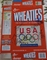 USA Softball stars autographed 1996 Olympic Wheaties box (Lisa Fernandez Dot Richardson Michele Smith)