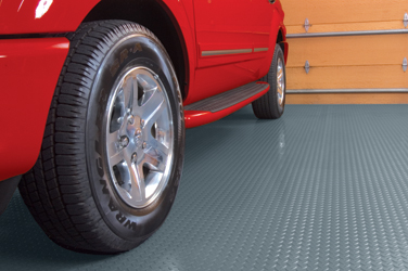 BLT Diamond Pattern Garage Floor Mat Covering