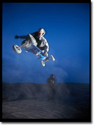 Mountain Board Action Shot - Rider: Jason Lee of the Special Ops Team