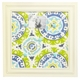 indigo summer baby crib bedding set