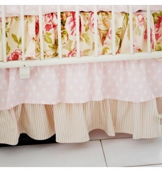 in full bloom baby crib bedding set