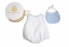 Pima Cotton Pique Bubble Gift Set - Blue