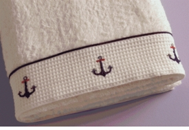 gordonsbury sailing away  guest towel