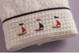 gordonsbury sailing away facecloth set