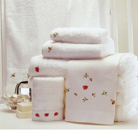 gordonsbury beetles and bees towel set