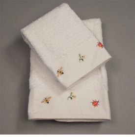 gordonsbury beetles and bees guest towel