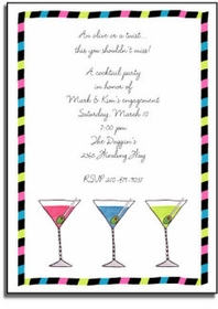 personalized invitations � olive or twist