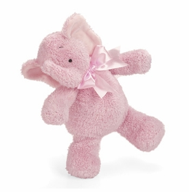 smushy pink elephant  - 11 inches  by north american bear