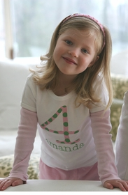 personalized polka dot t-shirt